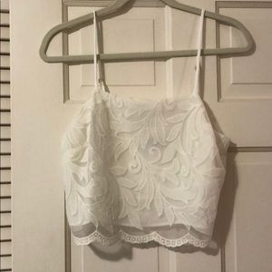 Show Me Your Mumu white lace set